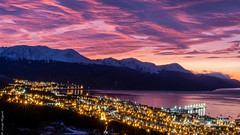 Dawn High View of Ushuaia - Argentina - 03150 (Jorge A Miguel) Tags: ushuaia provinciadetierradelfuego argentina