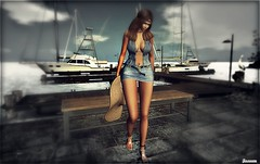 ► ﹌ Jour d'été sur la Marina.﹌ ◄ (яσχααηє♛MISS V♛ FRANCE 2018) Tags: mangula minahair amitieposes blog blogger blogging bloggers bento beauty bodymesh virtual woman secondlife sl slfashionblogger shopping styling style sexy designers fashion flickr france firestorm fashiontrend fashionable fashionindustry fashionista fashionstyle girl glamour glamourous lesclairsdelunedesecondlife lesclairsdelunederoxaane models modeling maitreya amias topmodel events roxaanefyanucci avatar artistic art nature summer nativetides