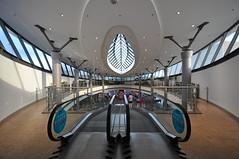 architecture charms (rafasmm) Tags: łódź lodz poland polska europe city citycenter architecture lines curvature structure urban windows stairs color indoor nikon d90 sigma 1020 ex