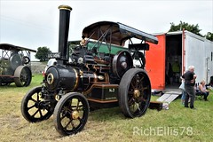 Add Watermark20190625120421 (richellis1978) Tags: kelsall steam rally 2019 locomotive traction engine roller showman tiger ug1496 no3 fowler