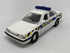 Corgi GB - Number C438/3 - Rover 800 Sterling Police Car - Miniature Diecast Metal Scale Model Emergency Services Vehicle (firehouse.ie) Tags: car corgi police rover rover800 metal miniatures miniature model cops models coche cop coches britishleyland bl rovergroup roversterling polizei polizia toy toys policia polis policie