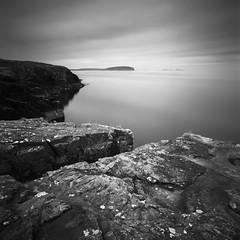 The Sound of Canna (Mark Rowell) Tags: isleofrum isleofcanna highlands scotland hasselblad 903 swc fuji acros bigstopper longexposure blackandwhite bw 120 6x6 mediumformat film