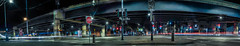 mission at duboce panorama (pbo31) Tags: bayarea california nikon d810 color night dark black june 2019 summer boury pbo31 sanfrancisco city urban soma missionstreet panorama large stitched panoramic overpass highway ramp light centralfreeway 101 roadway lightstream motion traffic
