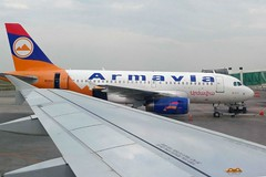 P1010186 (Бесплатный фотобанк) Tags: грузия тбилиси лето аэропорт аэробус airbusa319 аэробуса319