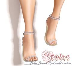 {Brilove} Summer Resort sandal LB AD (あい -AI-) Tags: secondlife shopping shoes heel sandal fashion mesh maitreya belleza