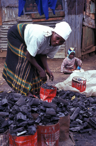 """Woman selling charcoal Nairobi_Bruce • <a style=""""font-size:0.8em;"""" href=""""http://www.flickr.com/photos/55440309@N08/48126051651/"""" target=""""_blank"""">View on Flickr</a>"""
