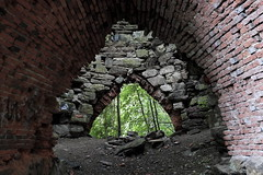 I Am Iron, Man (95wombat) Tags: old abandoned decayed crumbling industrial heritage history pennsylvania ironfurnace