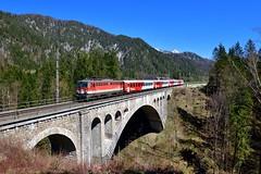 "1142 707 ""ÖBB"" St. Pankraz (Matthias Greinwald) Tags: 1142 707 öbb österreichische bundesbahn personenzug zug st pankraz pyhrn rex"