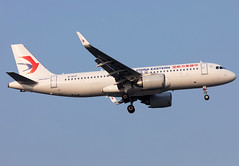 B-307F China Eastern A320neo (twomphotos) Tags: china eastern airlines airbus a320neo plane spotting zsss sha landing rwy18l evening