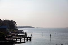 Bouldnor Beach (Visit Isle of Wight) Tags: bouldnor westwight visitisleofwight isleofwight slowwighttravelguide scenery nature light landscape peaceful coastline sky calm wild pier dusk seaside tree blue walking