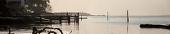 Bouldnor coastline (Visit Isle of Wight) Tags: bouldnor walking isleofwight visitisleofwight slowwighttravelguide westwight scenery nature watersedge coastline light pier peaceful morning dusk calm sky water seaside tree
