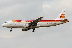 EC-GRI (PlanePixNase) Tags: aircraft airport planespotting bru ebbr brussels brüssel bruxelles zaventem iberia airbus 320 a320