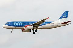 G-MIDU (PlanePixNase) Tags: aircraft airport planespotting bru ebbr brussels brüssel bruxelles zaventem airbus 320 a320 bmi midland british
