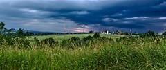 Before summer storm (mmichalec) Tags: summer storm nature grass sky cloud clouds lato chmury niebo burza fujifilm poland polska podkarpacie