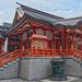 Temple in Shinjuku, Tokyo, Japan