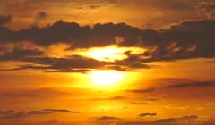 Sunset clouds (mmichalec) Tags: sunset sun cloud clouds chmury słońce zachód zachódsłońca sky niebo poland fujifilm