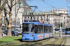 MUE_2153_201903 (Tram Photos) Tags: aeg gt6n r22 niederflur münchen munich swm tram tramway strasenbahn