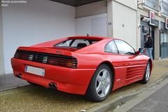 Ferrari 348 TB (Monde-Auto Passion Photos) Tags: voiture vehicule auto automobile ferrari 348tb coupé red rouge sportive rare rareté rassemblement france courtenay