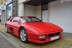 Ferrari 348 TB (Monde-Auto Passion Photos) Tags: voiture vehicule auto automobile ferrari 348tb coupé red rouge rare rareté rassemblement france courtenay