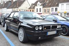 Lancia Delta HF Intégrale (Monde-Auto Passion Photos) Tags: voiture vehicule auto automobile lancia delta hf intégrale noir black sportive rare rareté rassemblement france courtenay