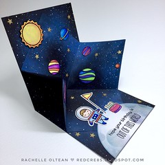 """Lawn Fawn """"Out of This World"""" pop-up explosion card! (RedCre8s) Tags: redcre8s lawnfawn lawnfawnatics toinfinityandbeyond outofthisworld spaceship outerspace rocketship birthdaycard cardmaking popupcard interactivecard handmadecards cardcraft cardsforfriends greetingcard handstampedcards greetingcardsofinstagram happymail stamping cardinspiration makingcards papercraft diecutting diecuts distressoxideink distressoxides"""