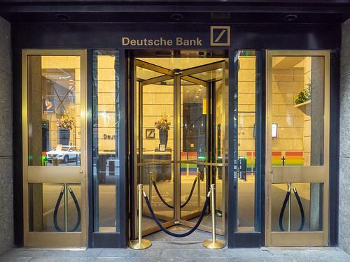 Deutsche Bank Entrance