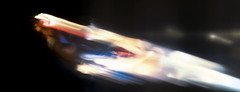Well don't let me out of your sight (tomtommilton) Tags: motion blur macro movie toy actionfigure flying glow space flight captain superhero pan marvel cinematic panning toyphotography caroldanvers intentionalcameramovement practicaleffects