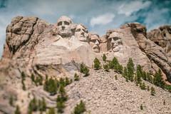Mt Rushmore - Tilt-Shift (yorgasor) Tags: hasselblad 80mm araxfoto tiltshift sony rushmore