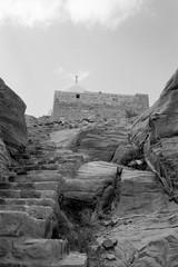 Djebel Haroun (Thibaut Fonteneau) Tags: agfa agfaapx400 apx400 nb bw argentique film jordan minox minox35 minox35gt petra