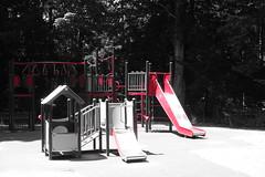 Playground @ Parc des Raisses @ Annecy-le-Vieux (*_*) Tags: europe france hautesavoie 74 annecy savoie 2019 june spring printemps sunny city annecylevieux red playground