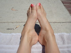 Ready for Summer (Mr2D2) Tags: pool summer summertime pedi pedicure feet arch toes sexyarches sexyfeet footfetish wife latina