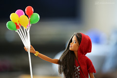 those wonderful balloons (photos4dreams) Tags: dress barbie mattel doll toy photos4dreams p4d photos4dreamz barbies girl play fashion fashionistas outfit kleider mode puppenstube tabletopphotography fashionista balloons canoneos5dmark3