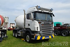 Add Watermark20190625030227 (richellis1978) Tags: truck lorry haulage transport logistics kelsall show 2019 scania ey55eud concrete cement mixer
