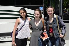 Boarding the coach (rachel.roze) Tags: busstop dartmouthcoach natalie dina rosa group hanover june2019