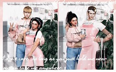 """I don't care as long as you just hold me near"" (Niifreya Resident) Tags: boys couple fake icon to bone ph taketomi the bttb monso slswapchallenge2019 pink hustler"