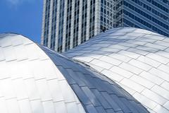 (jfre81) Tags: chicago millennium grant park pritzker pavilion metal steel texture shadow light building architecture abstract geometric city urban art james fremont photography jfre81 canon rebel xs eos