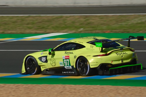 Aston Martin Racing's Aston Martin Vantage AMR Driven by Jonathan Adam, Alex Lynn and Maxime Martin