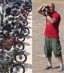 ...wie der Vater,so der Sohn! (2) (peterphot) Tags: rallye klosterbuch leica jun19 sachsen oldtimer motorräder