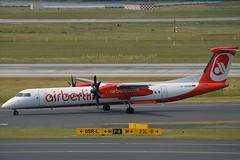 Air Berlin D-ABQD De Havilland Canada DHC-8-402Q Dash 8 cn/4234 wfu 27-10-2017 @ EDDL / DUS 16-06-2017 (Nabil Molinari Photography) Tags: air berlin dabqd de havilland canada dhc8402q dash 8 cn4234 wfu 27102017 eddl dus 16062017