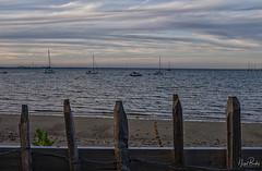 STUDLAND 2 (Nigel Bewley) Tags: middlebeach lastlight eveninglight dusk studland dorset england uk seaside sea sky clouds nt nationaltrust low key nigelbewley photologo appicoftheweek june june2019 jurassiccoast
