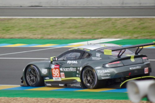 Aston Martin Racing's Aston Martin Vantage GTE Driven by Paul Dalla Lana, Pedro Lamy and Mathias Lauda