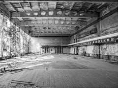 LRa Chernobyl 2019-5311803 (hunbille) Tags: birgitteukraine20196lr ukraine chernobyl exclusion zone exclusionzone radiation nuclear disaster 1986 pripyat сhеrnоbуl nuсlеаr abandoned derelict palaceofculture palace culture energetik energetic gymnasium