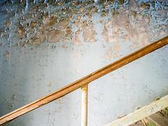 LR Chernobyl 2019-531179 9 (hunbille) Tags: birgitteukraine20196lr ukraine chernobyl exclusion zone exclusionzone radiation nuclear disaster 1986 pripyat сhеrnоbуl nuсlеаr abandoned derelict palaceofculture palace culture energetik energetic handrail wall peeling texture