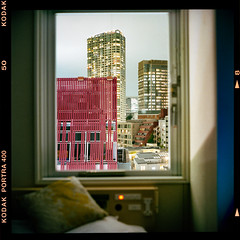 My home away from home (instagram.com/dimush) Tags: portra400 rolleiflex 120mm kodak portrait analog 120мм 120film среднийформат epsonv700 rolleiflex28e 120 portra grainisgood girl tlr 6x6 пленка film mediumformat tokyo japan