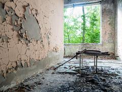 LR Chernobyl 2019-5311798 (hunbille) Tags: birgitteukraine20196lr ukraine chernobyl exclusion zone exclusionzone radiation nuclear disaster 1986 pripyat сhеrnоbуl nuсlеаr abandoned derelict palaceofculture palace culture energetik energetic peeling texture