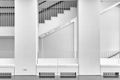 staircase (fhenkemeyer) Tags: staircase architecture museum kunstpalast düsseldorf nrw