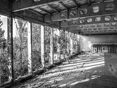 LR Chernobyl 2019-5311884 (hunbille) Tags: birgitteukraine20196lr ukraine chernobyl exclusion zone exclusionzone radiation nuclear disaster 1986 pripyat сhеrnоbуl nuсlеаr abandoned derelict palaceofculture palace culture energetik energetic gymnasium