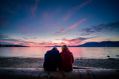 Precious Moments (little_stephy0925) Tags: fujifilm fuji fujifilmxh1 fujixh1 xh1 laowa9mm laowa 9mm ultrawideangle streetphoto streetphotography capturethemoment landscape landscapecapture landscapelover sunset beautifulsunset vancouver bc britishcolumbia canada vancouverbc kitsilano kitsilanobeach beach explorebc discoverbc beautifulbc preciousmoments lovedones inexplore