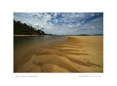 Rio Xallas (anpegom) Tags: ezaro xallas río mar arenales acoruña coruña galicia galiza paisaje agua cielo nubes azul blue