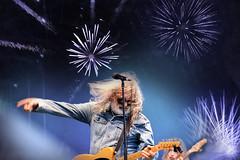 Rocking Fireworks (emerge13) Tags: livemusic fêtesdelastjean2019 fêtenationale musicians stage pag michelpagliaro guitar guitars guitarandbass humans candid people canadianmusicians québec rockers rockmusic tcp thisphotorocks